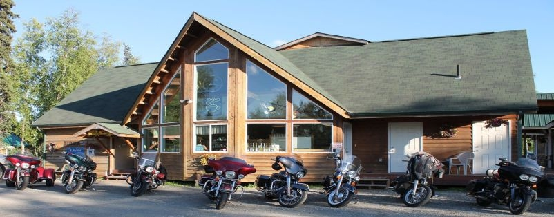 Stop in at the Lodge before or after a ride